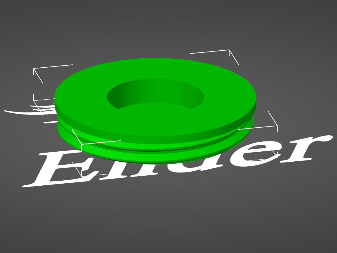 Futter-Ei Sockel mit Magnetloch