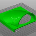 3D Modell Abdeckung für 120mm Lüfter