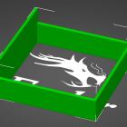 3D Modell Gehäuse für 60mm Lüfter