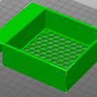 3D Modell Gehäuse für 80mm Lüfter
