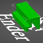 3D Modell Algenlampen-Clip