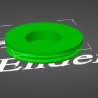 3D Modell Futter-Ei Sockel Variante mit Magnetloch