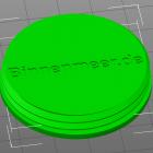 3D Modell Futter-Ei Sockel