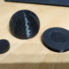 Futter-Ei mit 2mm Löchern und Neodym-Magnet